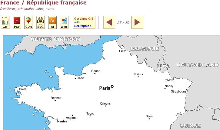 d-maps : la cartothèque de Daniel Dalet - Cartolycée